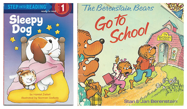 Sleepy Dog book cover | Berenstain bears book cover